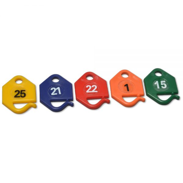 Numbered Key Tags
